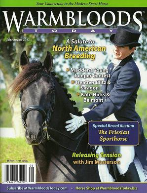 Gigha & Lexington on the cover!